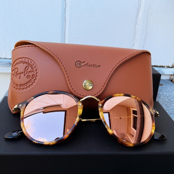 ROUND FLECK @ COLLECTION RAY BANS
